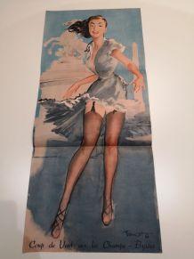 2 Pin ups de Brenot -1950