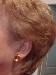 Boucles d'oreilles à clip vintage