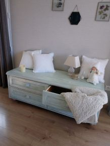 """Commode relooké style """"Cottage"""""""