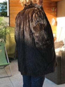 veste en fourrure taille 44