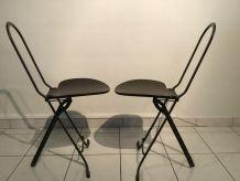 Paire de Chaise pliante Rinaldi