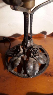 Lampe art deco  pate de verre 1920