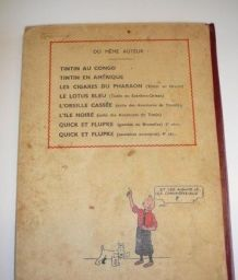 Tintin Le sceptre d'Ottokar 1939 500 exemplaires
