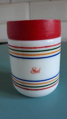 Salière et poivrière Egizia Italie 1970