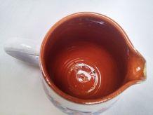 Pot à lait en grès émaillé