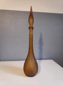 carafe italienne ambre empoli