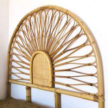 Tête de lit rotin et bambou