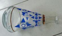 Carafe ancienne motif art deco