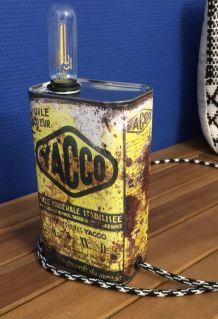 Lampe vintage, industrielle,