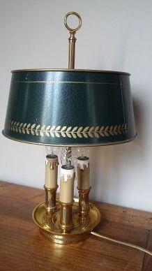 Lampe de bureau bouillotte