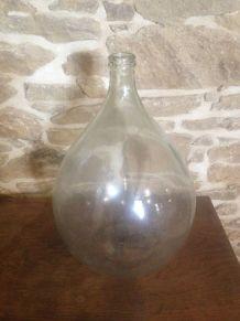 Dame Jeanne verre blanc grand format