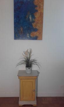 Table chevet rénovée