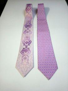 Cravate homme Pacoraban et REMIZIO