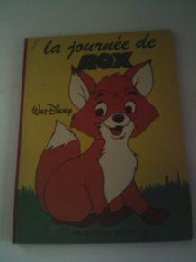 Livre la journée de Rox Vintage Walt Disney