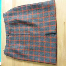 Jupe vintage en laine