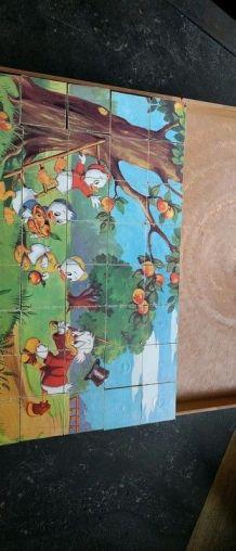 Ancienne boite à 40 cubes Disney TBE