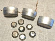 Lot de moules aluminium anciens