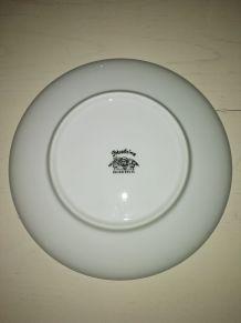 Assiette porcelaine Lucien Engel