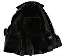 Véritable Manteau Peau lainée Mac Douglas L fourrure mouton