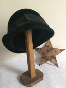 Porte-chapeau rustique, accessoire modiste (modèle 2)