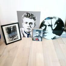 Collection horloge, cadre.... James Dean