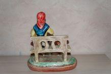 ancienne figurine en platre