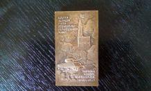 Plaque bronze Maréchal Leclerc de Hautecloque