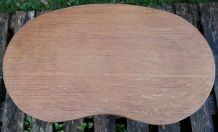 Ttable basse haricot en bois
