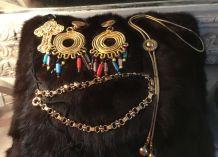 lot bijoux vintage