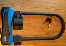 Antivol U 12mm 16x32cm