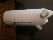 Vase Vallauris signé
