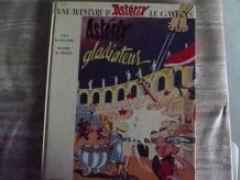 asterix .gladiateur  depot legal 2eme trim 1978
