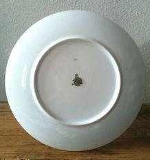 Joli serviteur à gourmandises en porcelaine