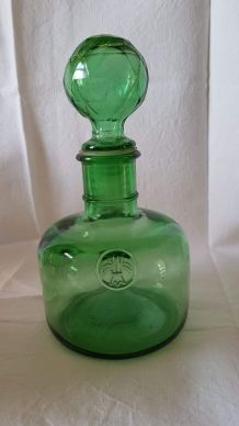 Carafe vintage en verre d'Empoli, Vetreria Etrusca