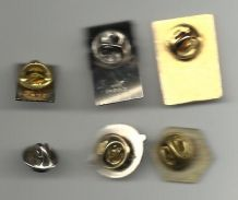 Lot de 6 pins vintage  TBE