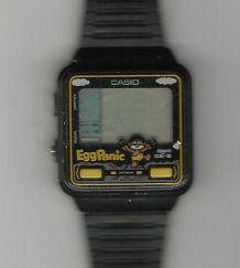 Montre vintage CASIO jeux vidéo de type Game & Watch