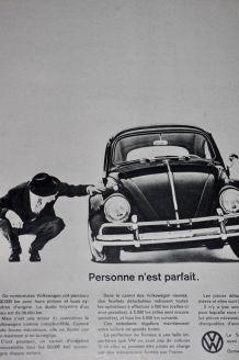 Pub presse Volkswagen Coccinelle années 60