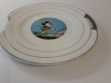 ASSIETTES MICKEY AUTHENTIFIE DISNEY 1930 10 ASSIETTES+ PLAT
