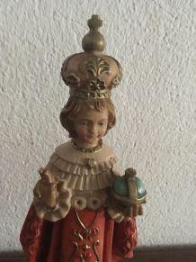 Deux statuettes en résine décoration  Noel.