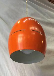 Suspension en métal orange