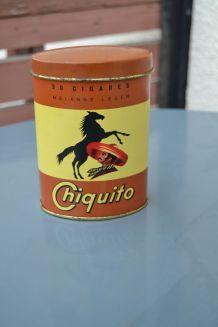 Boite à cigares Chiquito année 60