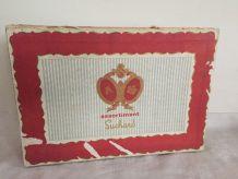 Ancienne boîte de chocolats Suchard