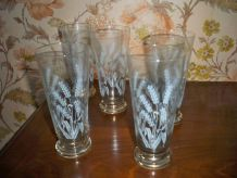 5 verres à orangeade