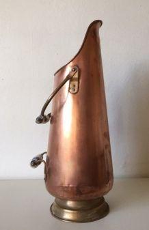 Porte-parapluie cuivre, Seau è charbon ancien
