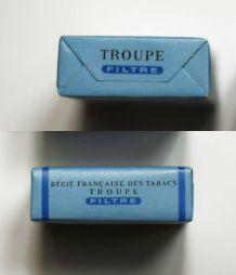 GAULOISES FILTRE CAPORAL TROUPE CIGARETTES