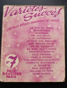 variétés succès numéro 7 paul beuscher paris