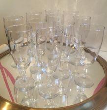 11 flûtes à champagne