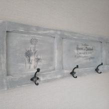 Porte manteaux mural relooké