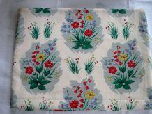 Tissu vintage des années 50, neuf