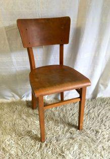 Chaise bistrot THONET en bois courbé – mid. XXème